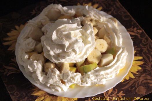 Obstsalat, raffiniert und lieblich — Einfacher