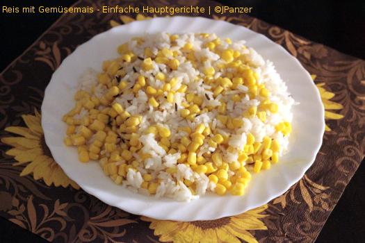 Reis mit Gemüsemais – Hauptgerichte (1-2 Personen)