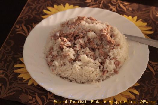 Reis mit Thunfisch – Hauptgerichte (1-2 Personen)