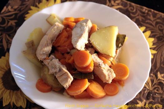 Fisch Suppe — Einfache Hauptgerichte