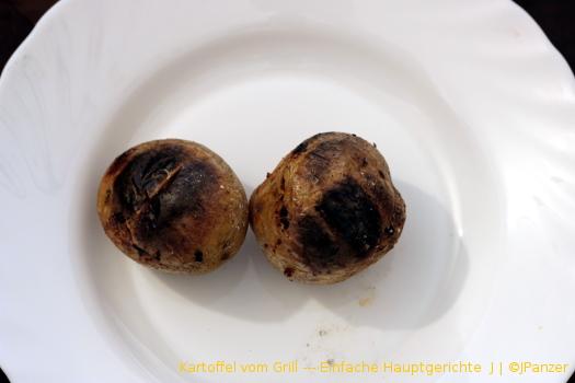 Kartoffel vom Grill — Einfache Hauptgerichte