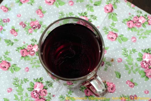 BIO Rotwein, Tischwein — Getränke