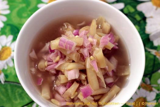 Bohnensalat mit Schalotten — Salat