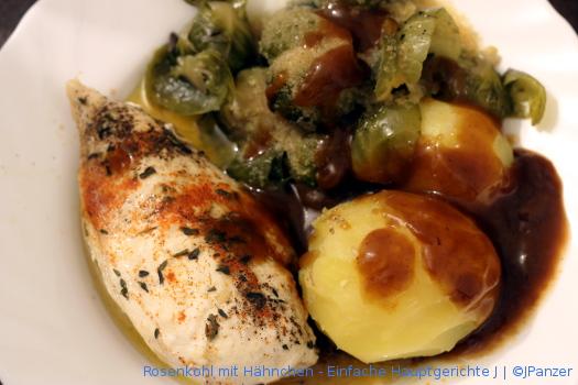 Rosenkohl mit Hähnchen – Einfache Hauptgerichte