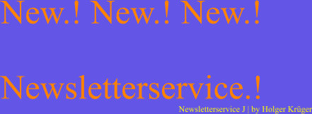 Newsletterservice | J