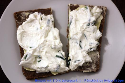 Brotzeit mit BIO Kräuterquark | J – Frühstück
